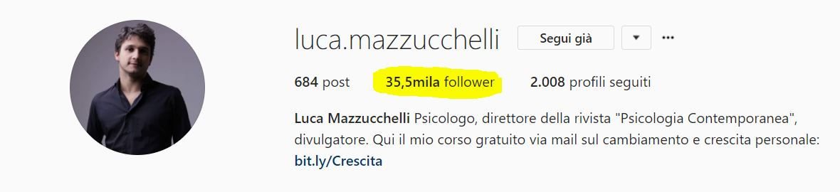 avere più seguaci su instagram