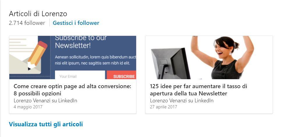 come trovare lavoro con linkedin articoli