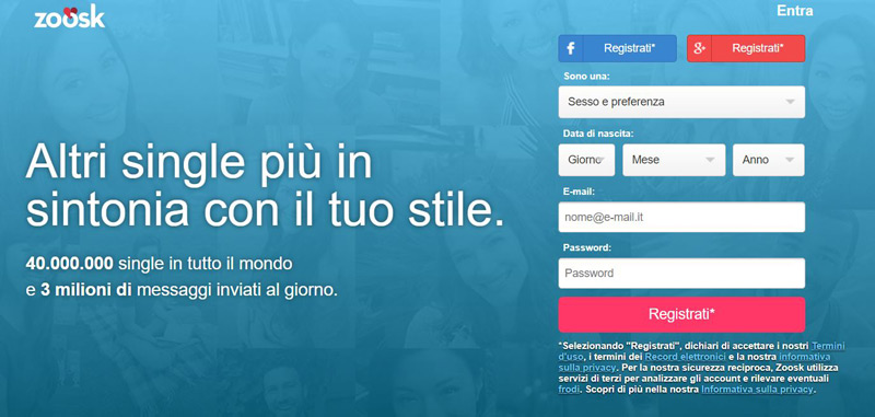 online dating una parola risposta