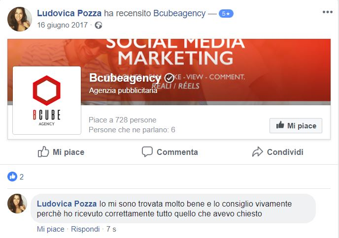 opinione bcube agency