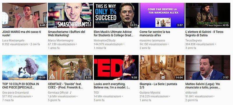 aumentare visualizzazioni youtube miniature