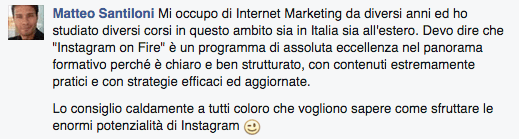 instagram on fire funziona