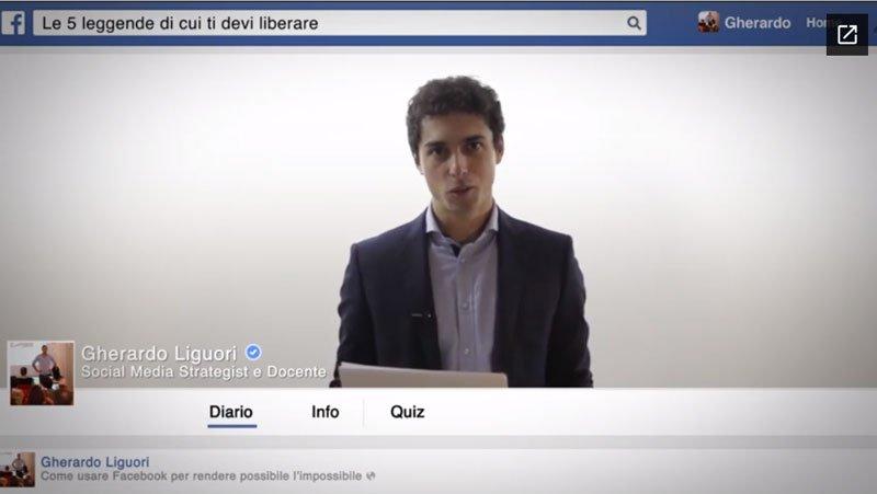 corsi facebook professionisti politici associazioni