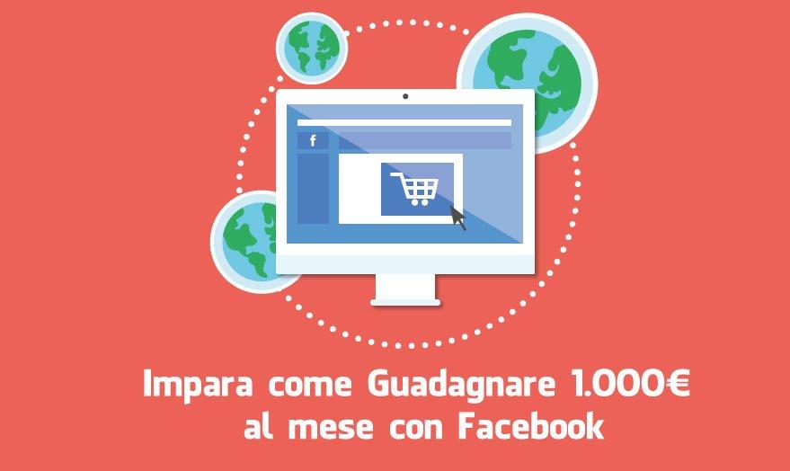 corso facebook 1000 euro al mese