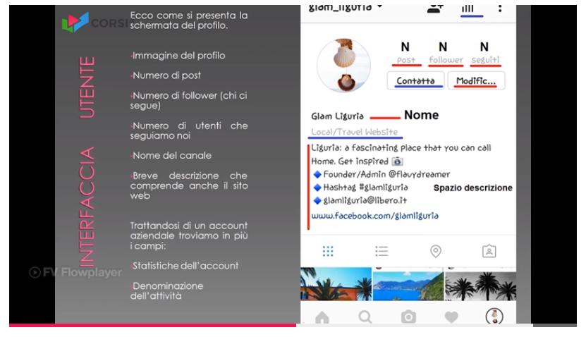 instagram corso online fondamentale