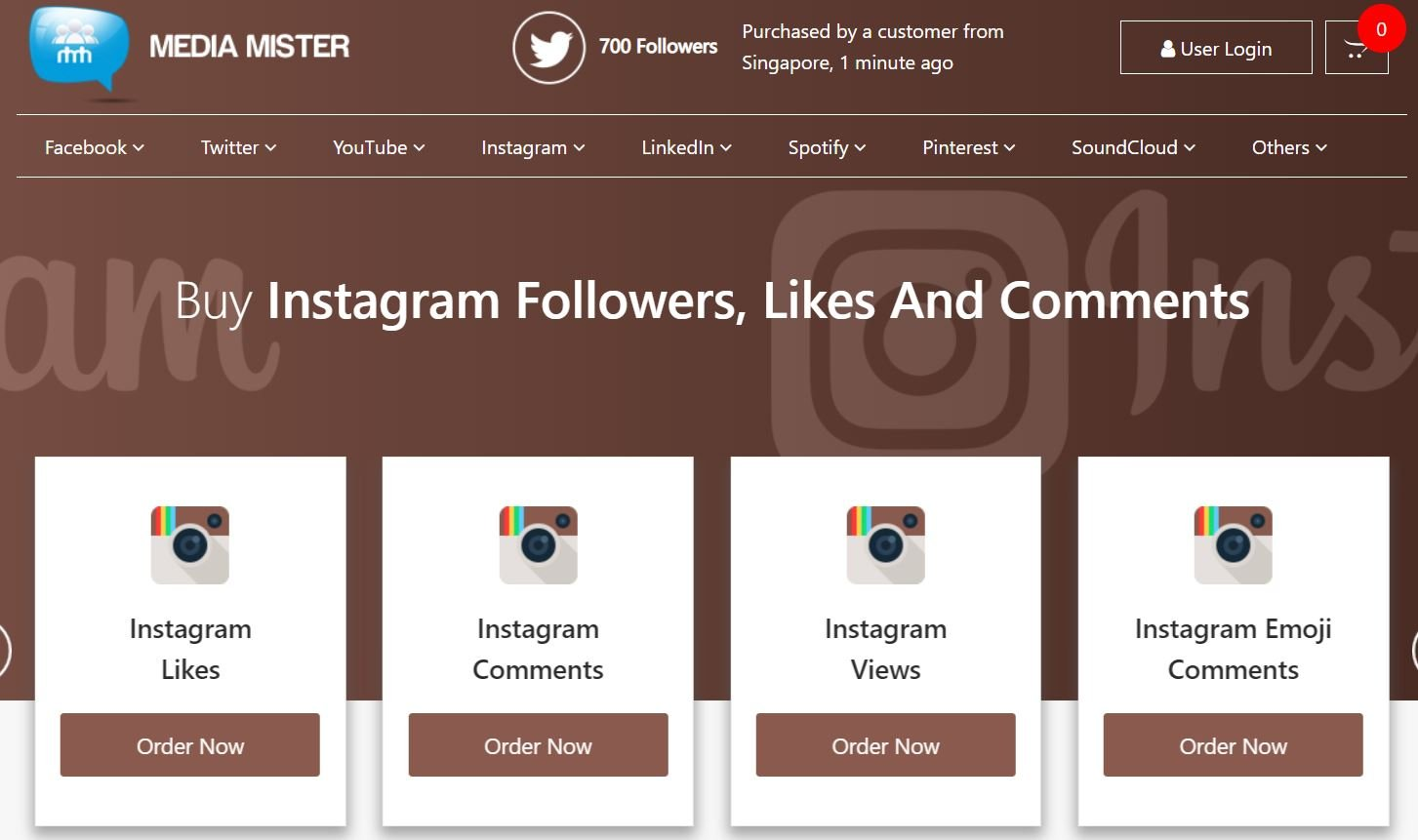 comprare follower instagram media mister
