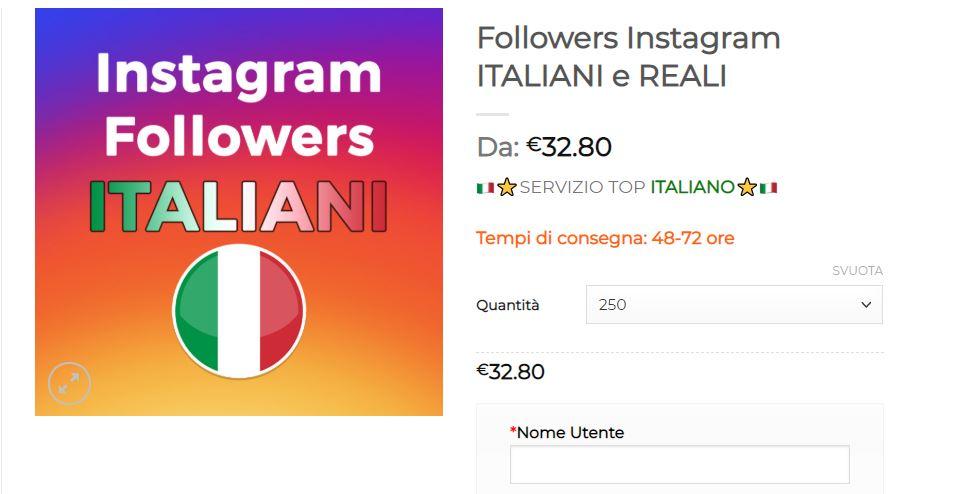 comprare followers instagram reali e italiani