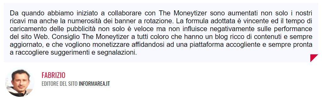 opinioni the moneytizer