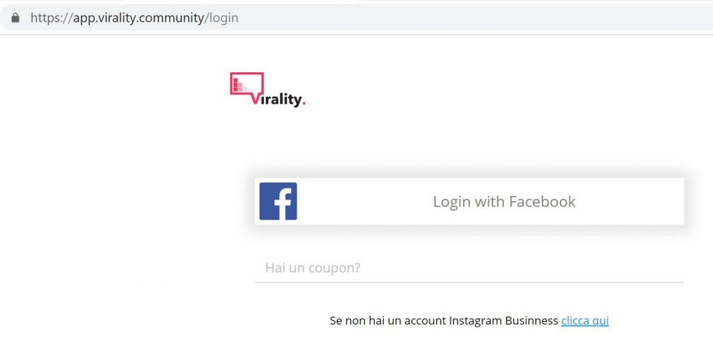 virality login