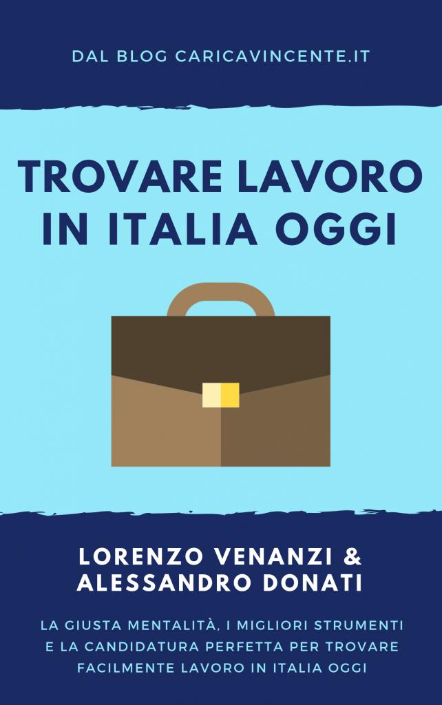 trovare lavoro in italia oggi ebook