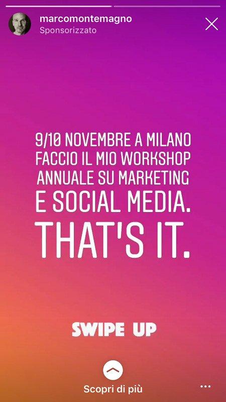 swipe up instagram stories