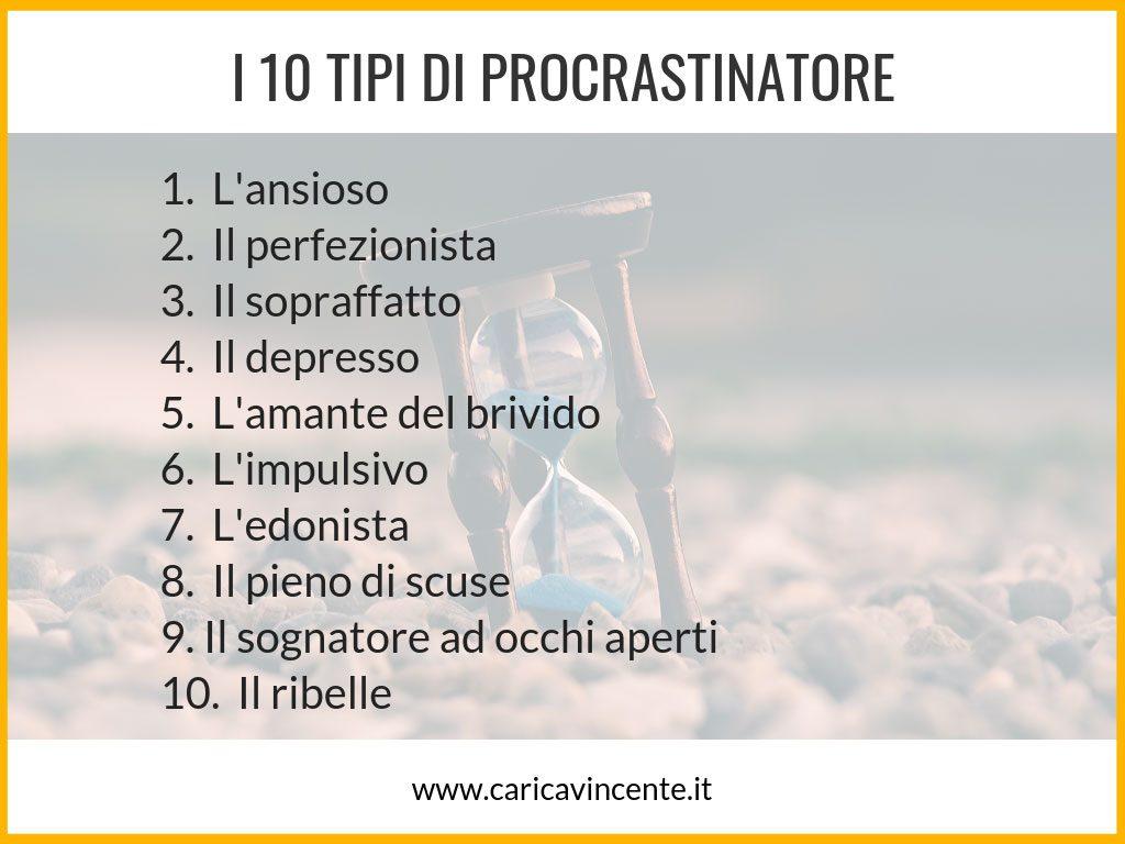 procrastinatore seriale