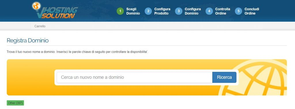acquistare dominio web