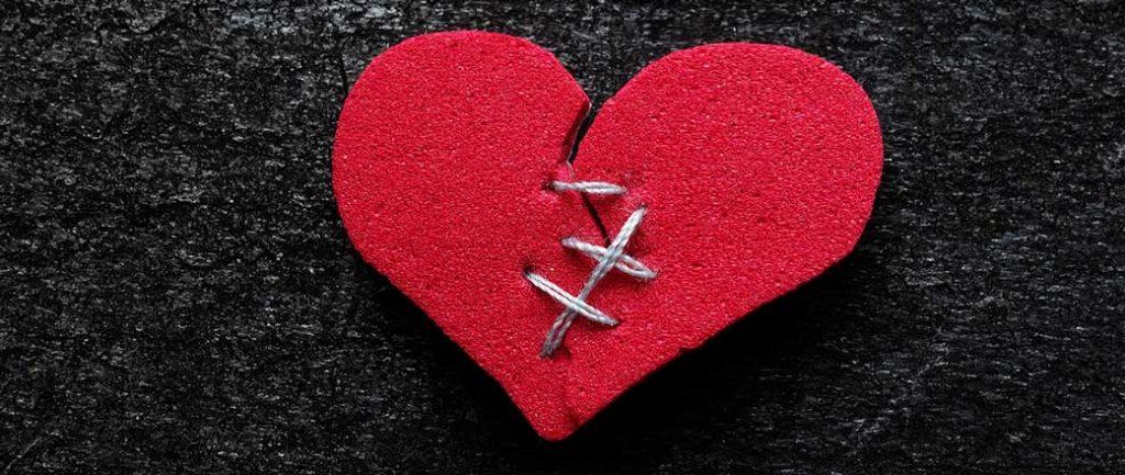 riparare cuore infranto