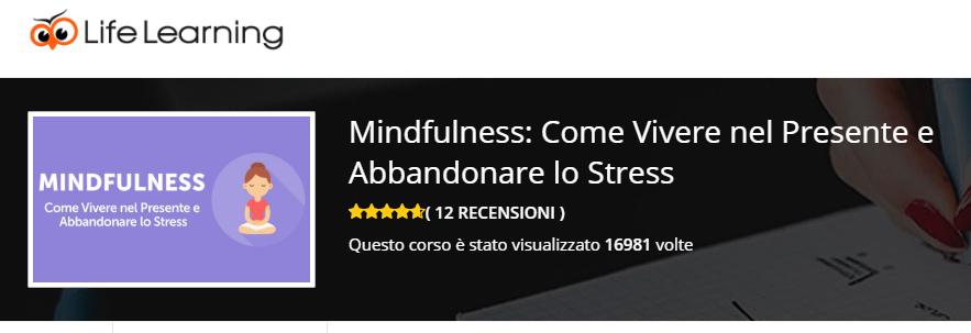 corsi di mindfulness