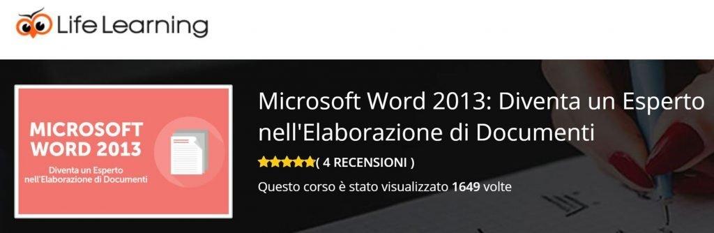 corsi word online