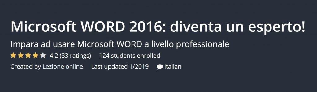 corso word online