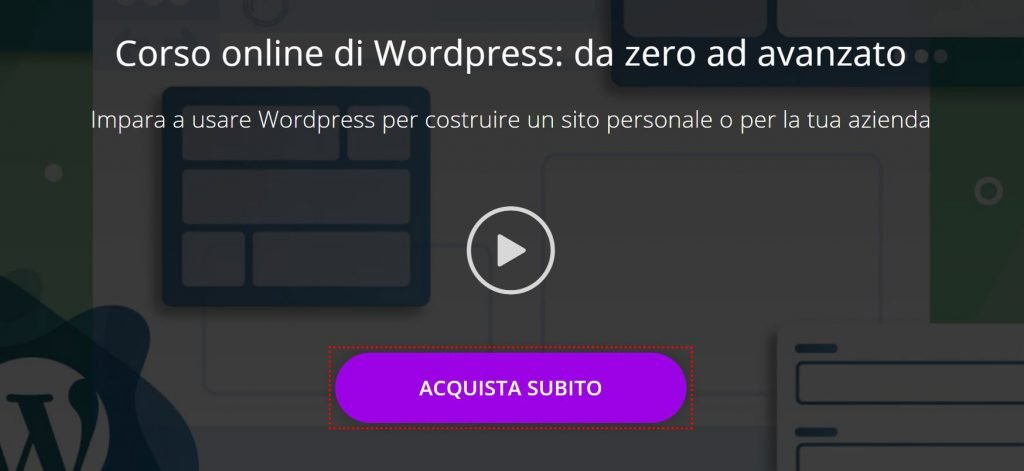 corso wordpress online base