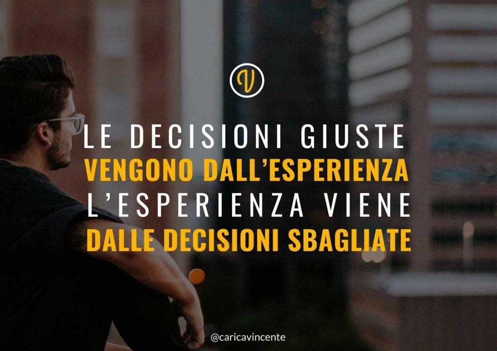 frasi sulle decisioni