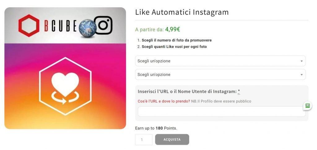 instagram power like