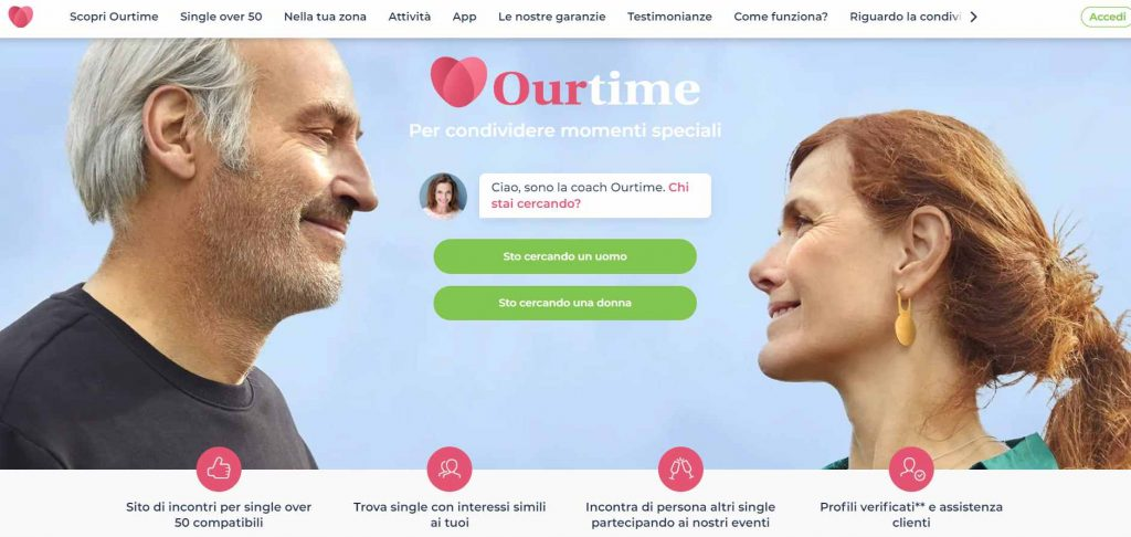 OurTime_app incontri over 60