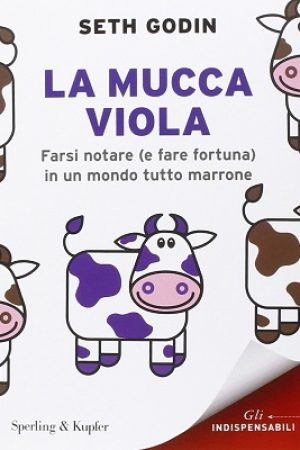 libri marketing la mucca viola